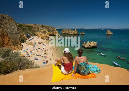 Praia da Dona Ana, Algarve, Portugal - Stock Photo