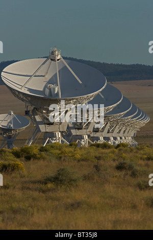Very Large Array or VLA - Radio telescopes near Socorro - New Mexico - USA - A component of the NRAO - Stock Photo