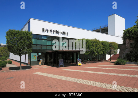 Rhein-Sieg-Halle in Siegburg, Naturpark Bergisches Land, Nordrhein-Westfalen - Stock Photo