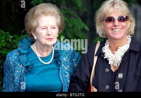 Carol Thatcher daughter of Margaret Thatcher Ex Prime ...
