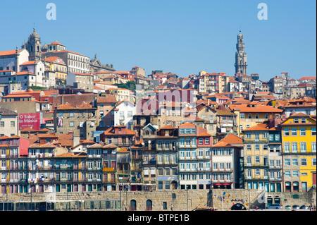 Cais Da Ribeira, Porto, Portugal - Stock Photo