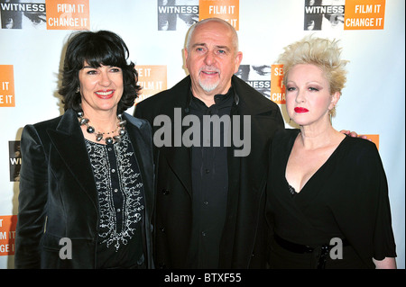 Witness Focus For a Change Benefit Dinner and Concert - Stock Photo