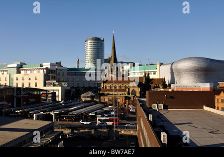 Birmingham city centre, UK - Stock Photo