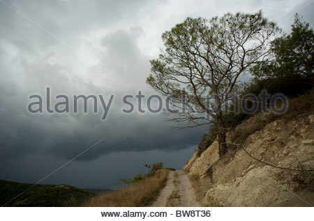 Greek landscape Greece - Stock Photo