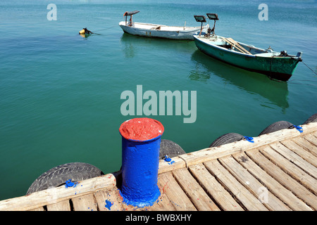 The historic port of Acre or Akko in north Israel - Stock Photo
