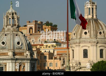 Santa Maria di Loreto - Piazza Venezia in Rome, Roma, Italy - Stock Photo