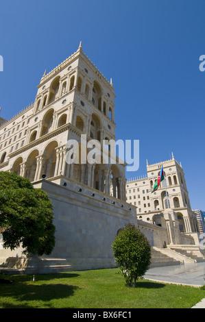 Government House (Dom Soviet), Baku, Azerbaijan, Central Asia, Asia - Stock Photo