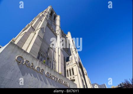 Usa, California, San Francisco, Grace Cathedral - Stock Photo
