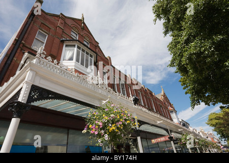 Lord Street Shops, Southport, Merseyside, England - Stock Photo