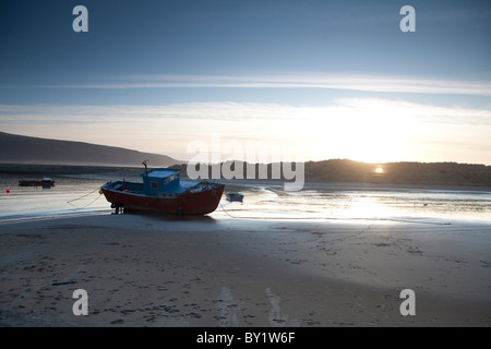 The Mawddach Way in Wales long  distance footpath Barmouth - Stock Photo