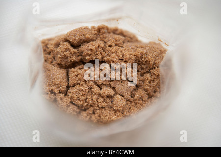 Muscovado Sugar Unrefined - Stock Photo
