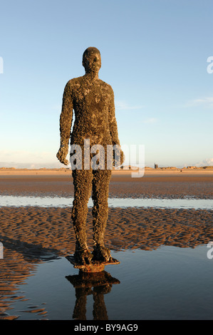 Antony Gormley Another Place - Stock Photo