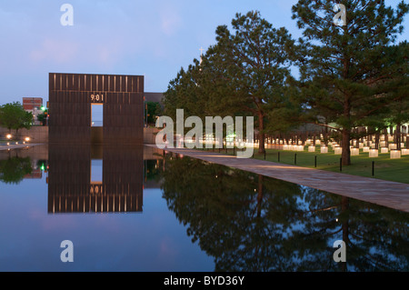 Oklahoma City National Memorial & Museum, dedicated to victims of the Alfred P. Murrah Federal Building bombing - Stock Photo