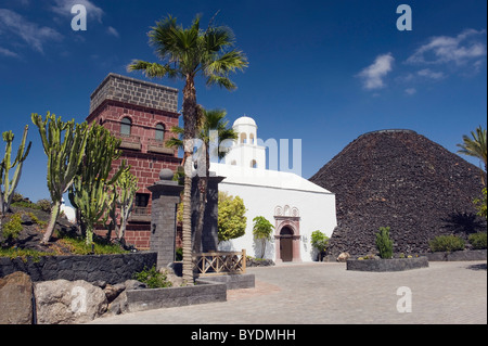 Hotel, Gran Melia Volcan, Marina Rubicon, Playa Blanca, Lanzarote, Canary Islands, Spain, Europe - Stock Photo