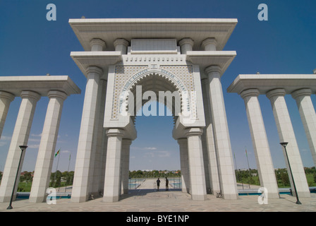 Turkmenbashi Ruhi Mosque, Turkmenistan, Central Asia - Stock Photo