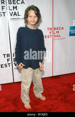Bobby Coleman at the NY Premiere of 'Take' 2007 Tribeca Film Festival held at Clearview Chelsea West Theaters New - Stock Photo