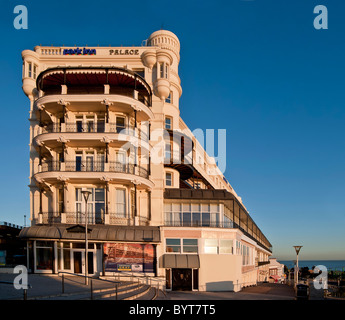Palace Hotel on Pier Hill Southend-on-Sea, Essex - Stock Photo