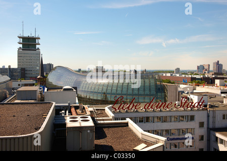Cologne, view of the Peek and Cloppenburg department store, North Rhine-Westphalia, Germany, Europe - Stock Photo