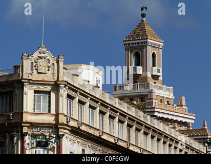 Barcadi Tower, Havanna Vieja, Cuba - Stock Photo
