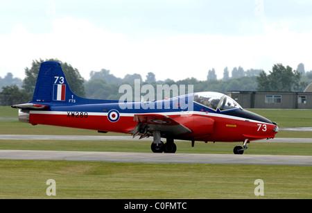 Jet Provost, British jet-powered trainer aircraft - Stock Photo