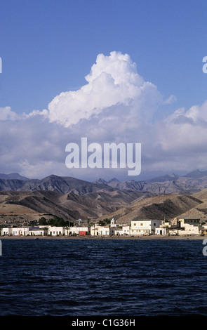 Republic of Djibouti, Tadjoura city - Stock Photo