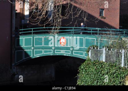 St Miles Coslany bridge, Norwich. - Stock Photo