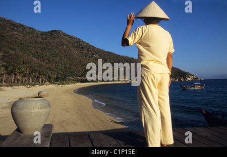 Vietnam, Nha Trang, Evason Hideaway and Spa at Ana Mandara - Stock Photo
