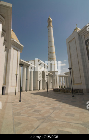 Turkmenistan, Turkmenbashi Ruhi Mosque - Stock Photo