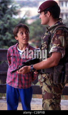 The term Kosovo War or Kosovo Conflict is used to describe two sequential, and at times parallel, armed conflicts - Stock Photo