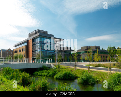 Glory Park, Wooburn Green, High Wycombe. An environmentally conscious business park. Grade A BREEAM 'excellent' - Stock Photo