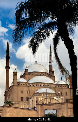 The Mosque of Muhammad Ali Pasha or Alabaster Mosque IN CAIRO, EGYPT - Stock Photo