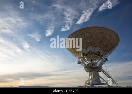 National Radio Astronomy Observatory. The Very Large Array (VLA) in New Mexico, USA. - Stock Photo