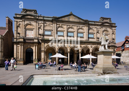 York City Art Gallery in Exhibition Square York North Yorkshire UK - Stock Photo