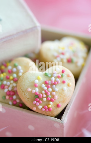 Cookie gift box - Stock Photo