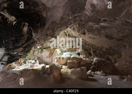 San Gabriel Limestone Cave, Los Haitises National Park, Dominican Republic - Stock Photo