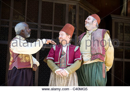 Much Ado About Nothing by William Shakespeare, directed by Jeremy Herrin - Stock Photo
