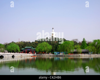 Beihai Park, Beijing - Stock Photo