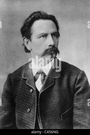Carl Friedrich Benz, around 1889 - Stock Photo