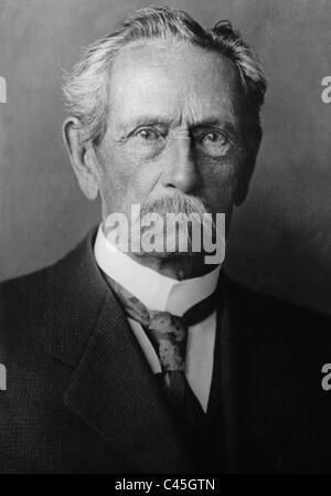 Carl Friedrich Benz, around 1918 - Stock Photo