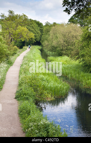 Cromford Canal, Derbyshire, England - Stock Photo