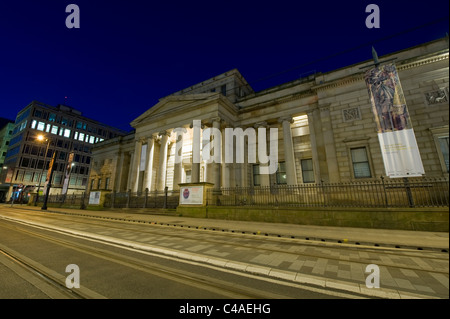 The Grade I listed Manchester Art Gallery building located on Mosley Street in the city centre of Manchester, UK, - Stock Photo