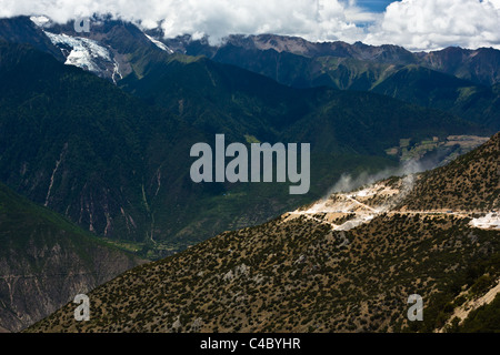 Meili snow mountain landscape - Stock Photo