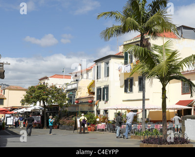 Zona Velha Old Town Funchal Madeira Portugal EU Europe - Stock Photo