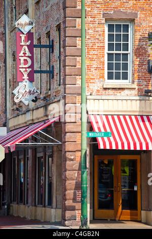 Paula Deen's The Lady and Sons Restaurant - Savannah, Georgia - Stock Photo