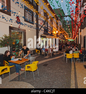 Old Town Funchal, Madeira. - Stock Photo
