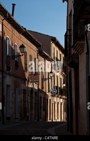 Lerma old city in Burgos - Stock Photo