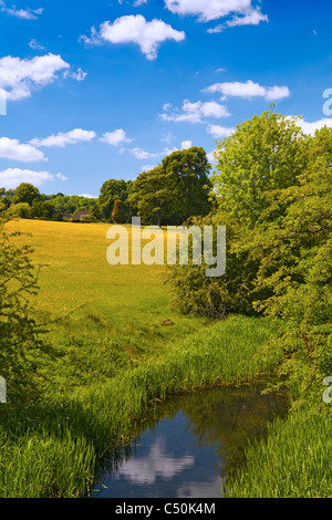 Cromford Canal, Cromford, Derbyshire, England UK - Stock Photo