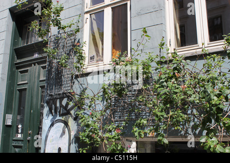 Apartment building in Vesterbro, Copenhagen - Stock Photo