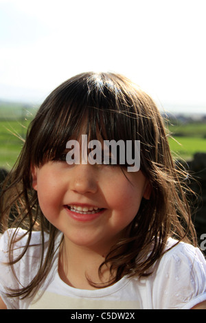 5  year old girl - Stock Photo