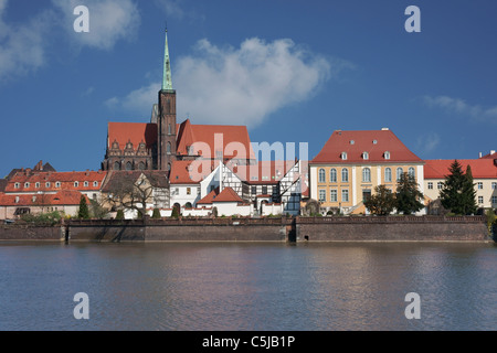 Kreuzkirche Breslau | Church of the Holy Cross, Wroclaw - Stock Photo